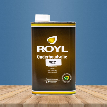 Rigostep Royl Onderhoudsolie Wit