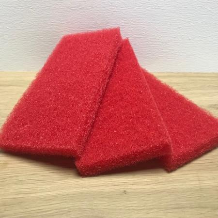 Pad Rood Groot 12x25cm