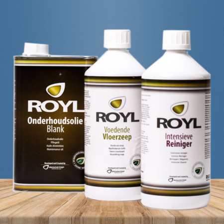 Rigostep Royl Onderhoudsset Naturel